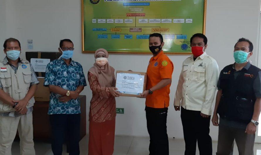 MCCC Jepara Bantu APD RS PKU Muhammadiyah Mayong